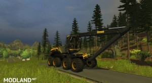 Ponsse Scorpion with Downhill v 0.9 BETA, 23 photo