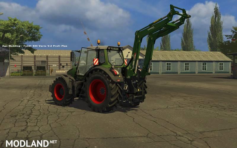Fendt rear loader Cargo R v1.0 MR