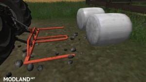 Round Bale Fork Double, 2 photo