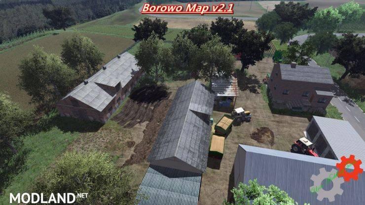 Borowo Map