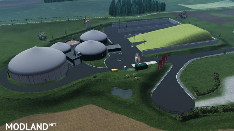 Mercedes Benz Unimog >> Kirchlengern biogas plant v 0.98