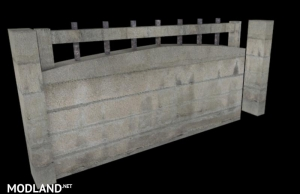 Concrete fences v 1.0, 2 photo