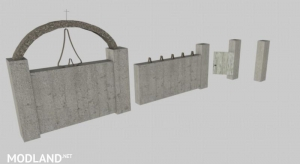 Concrete fences v 1.0