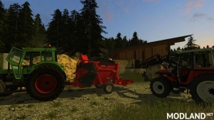 Dunghill with bales of crop adoption v 1.0