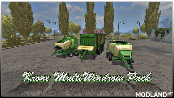 Krone Multi-Windrow Pack