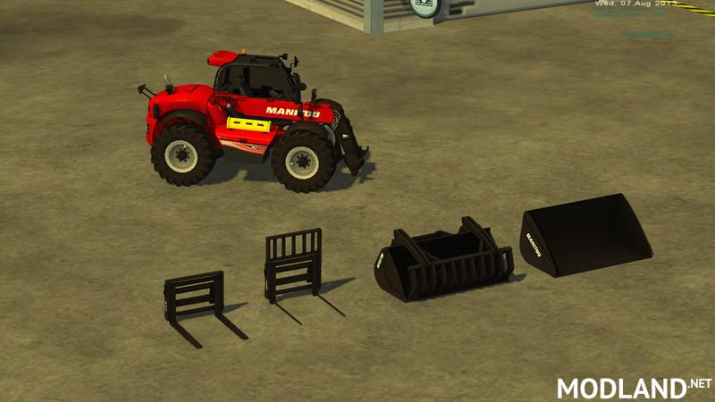 Manitou MLT pack