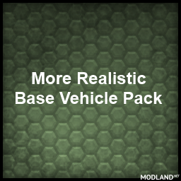 More Realistic default Vehicle Pack