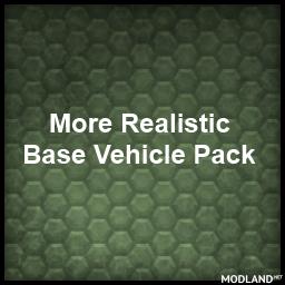 More Realistic default Vehicle Pack V1.3.9