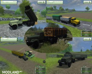 KrAZ and Trailers Pack v 2.1, 13 photo