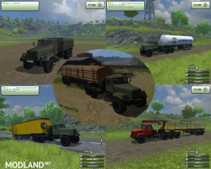 KrAZ and Trailers Pack v 2.1, 14 photo