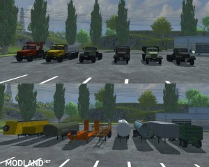 KrAZ and Trailers Pack v 2.1, 15 photo