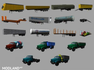 KrAZ and Trailers Pack v 2.1, 7 photo