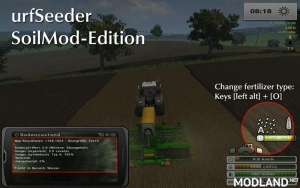 Fertilization for seed drills v 4.0 SoilMod Edition
