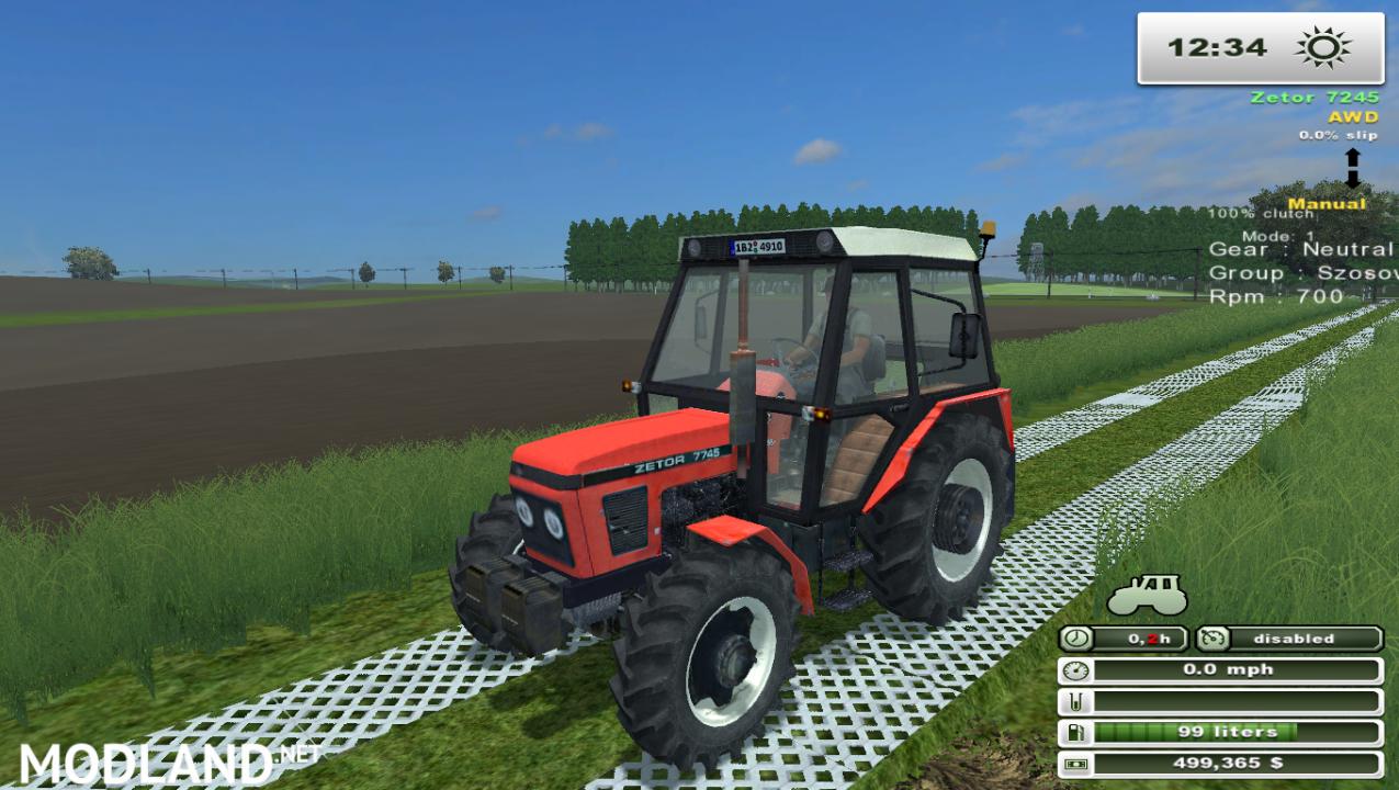 Zetor 7745 (More Realistic)