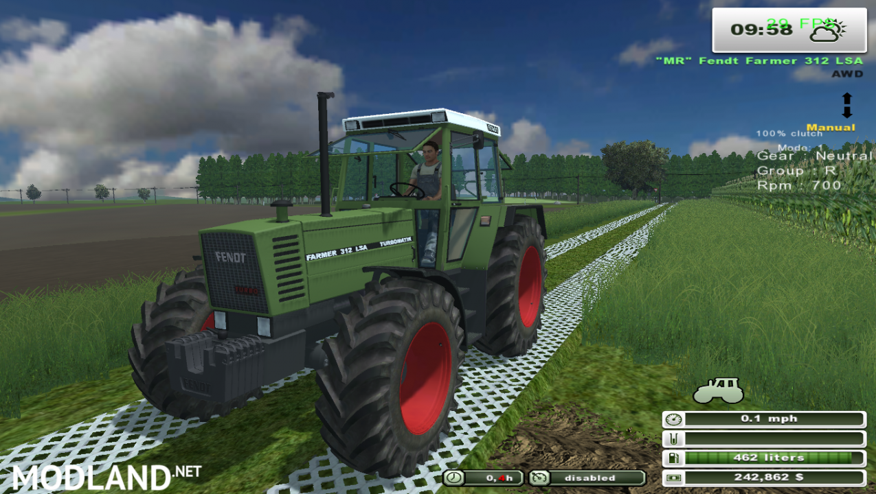 Fendt Farmer 312 Lsa (More Realistic)