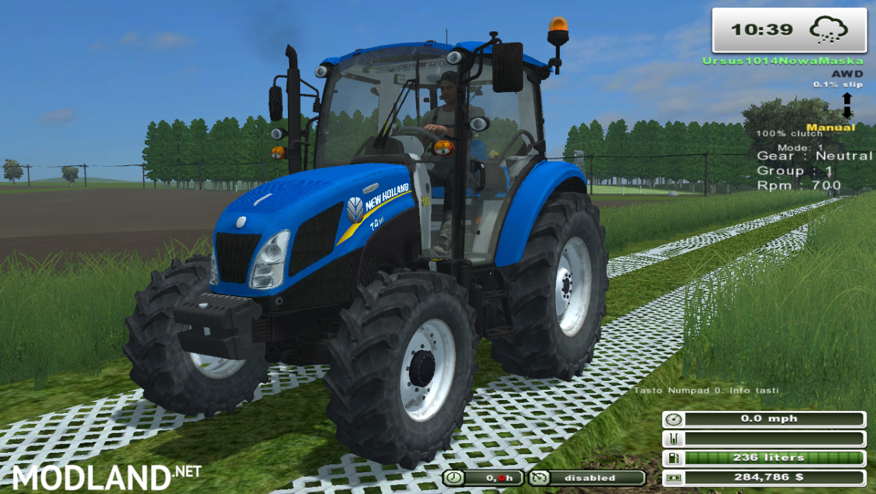 New Holland t4.55 (More Realistic)