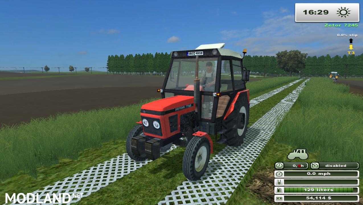 Zetor 7711 (More Realistic)