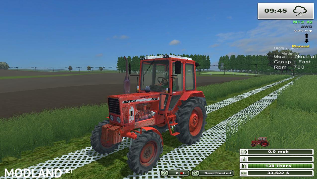 MTZ 82 (More Realistic)