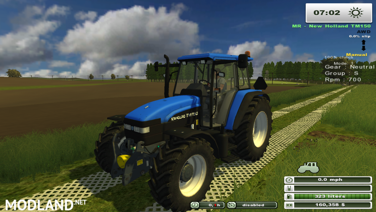 New Holland TM 150 (More realistic)