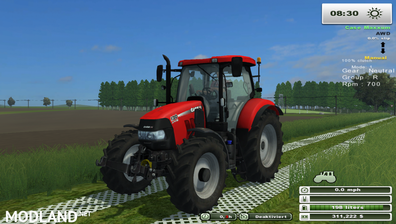 Case Maxxum 130 (More Realistic)