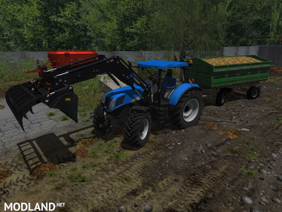 MR New Holland T7040