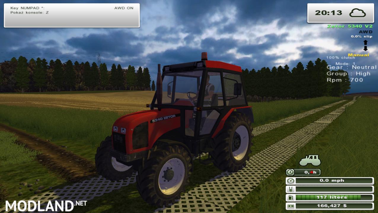 Zetor 5340 (More Realistic)