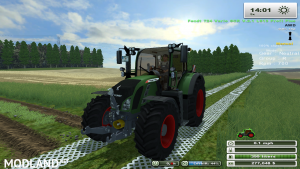 Fendt 724 SCR (More Realistic)