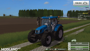 New Holland t6.160 (more realistic)