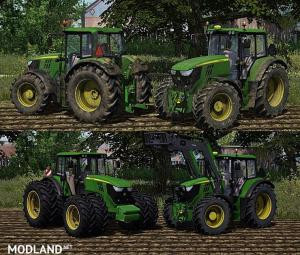 John Deere 6150M [Washable]