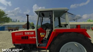 Steyr 8080h Turbo SK1 Tractor, 4 photo