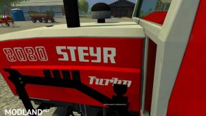 Steyr 8080h Turbo SK1 Tractor, 7 photo