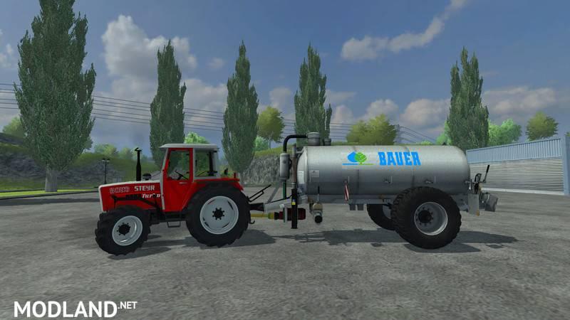 Bauer V90 Manure Spreader