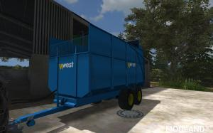 Harry West 10T Silage Trailer