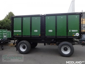 Brantner Z 18051 Pack Trailer