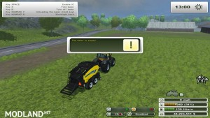New Holland Big Baler 1290 v 1.0