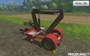TAKRAF crane trailer homemade v 1.0, 4 photo