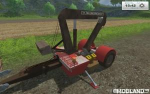 TAKRAF crane trailer homemade v 1.0, 6 photo