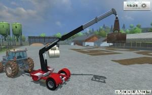 TAKRAF crane trailer homemade v 1.0, 7 photo