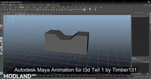 Autodesk Maya animation for export I3d v 1.0