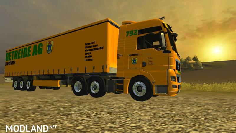 MAN AG Grain Transport Pack