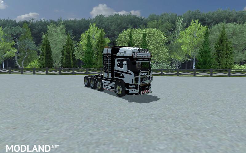 SCANIA 560 Heavy Duty