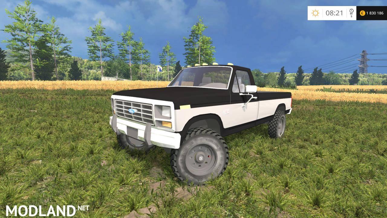 Ford f250xlt 1985 diesel 4x4 v 1 0