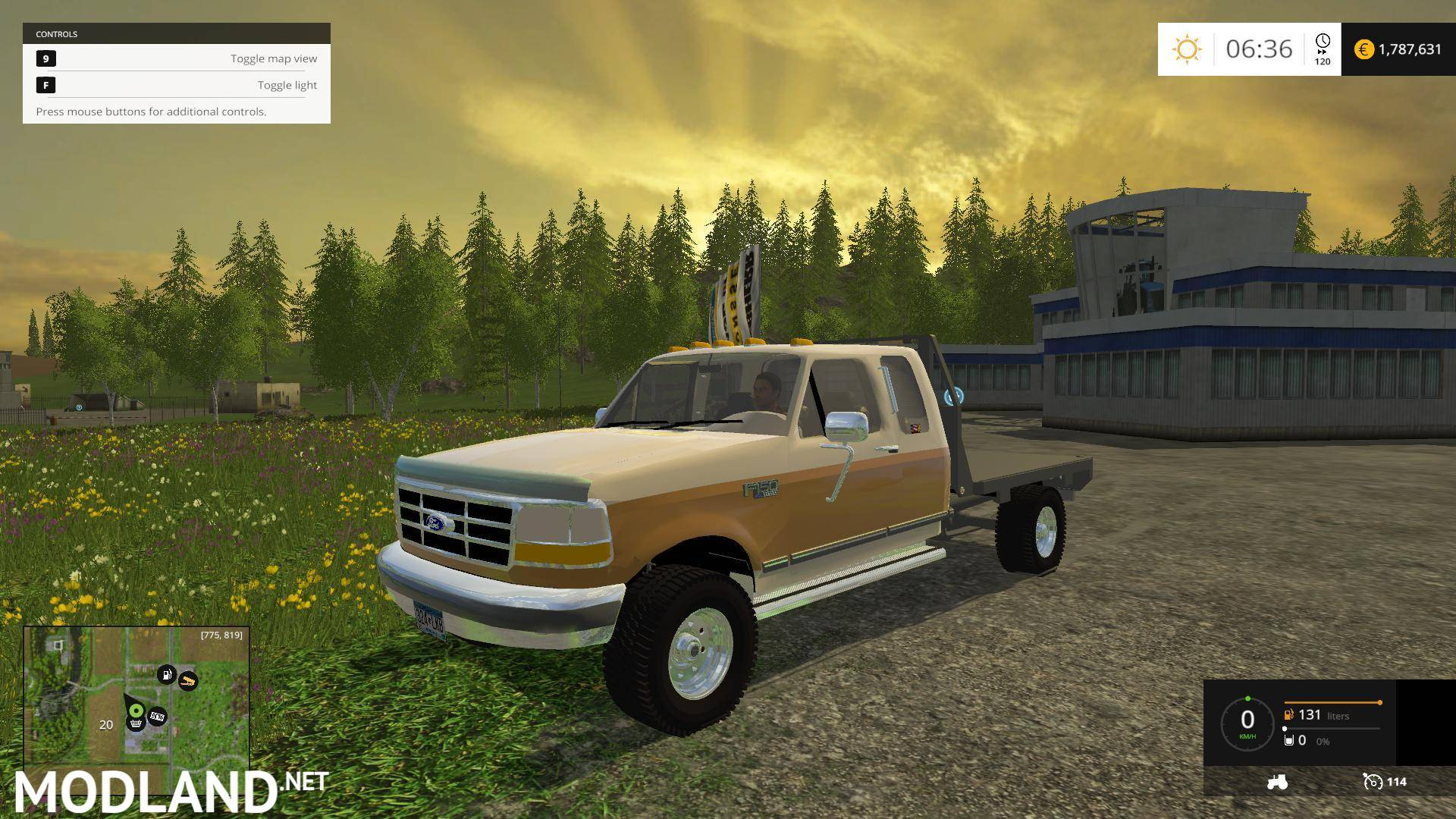 Ford f250 flatbed 1 photo