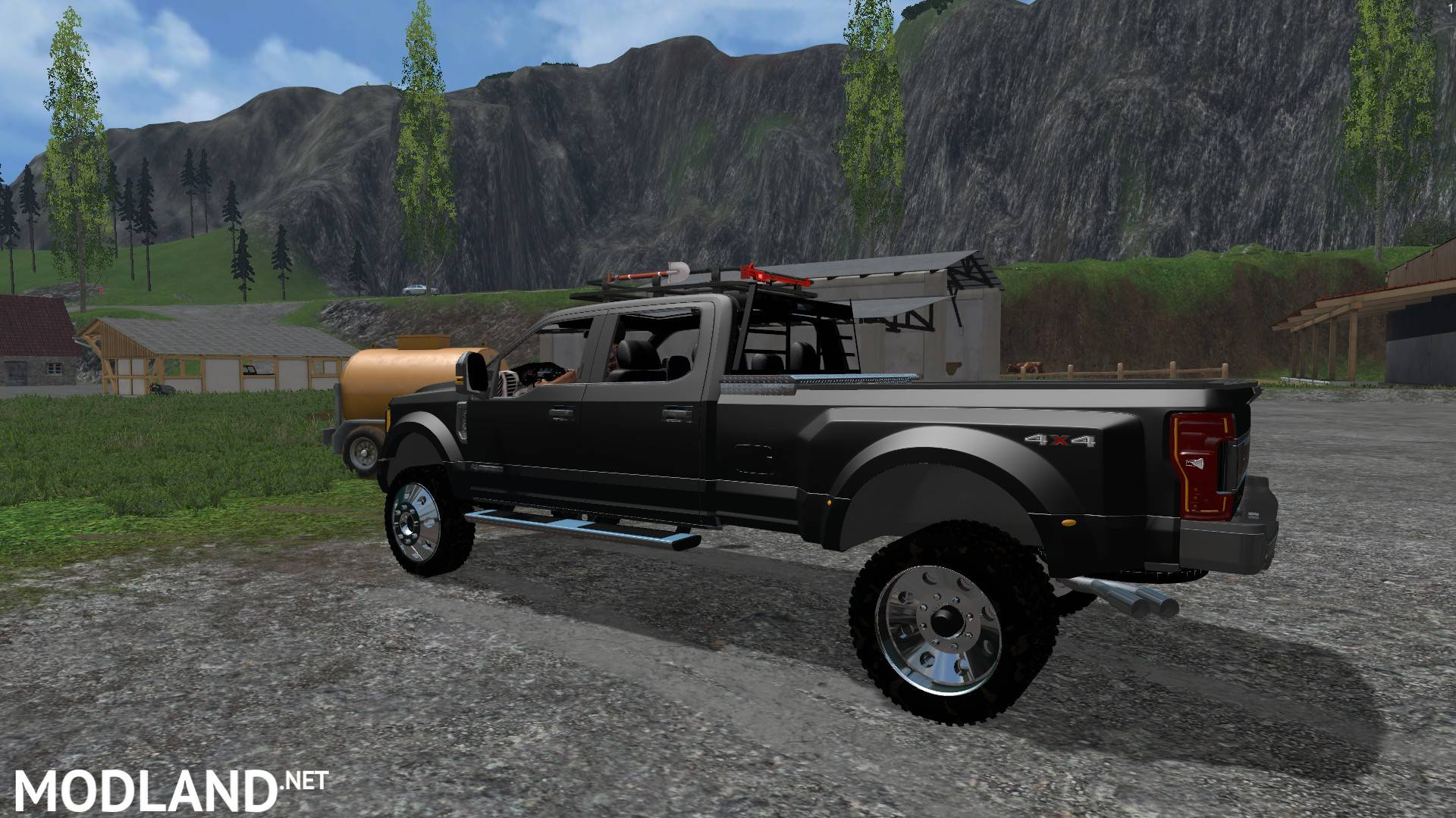 2017 ford f450 super duty platinum edition mod for farming simulator 2015 15 fs ls 2015 mod