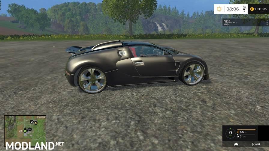 Bugatti Veyron Mod v 2 0 mod for Farming Simulator 2015 / 15 | FS