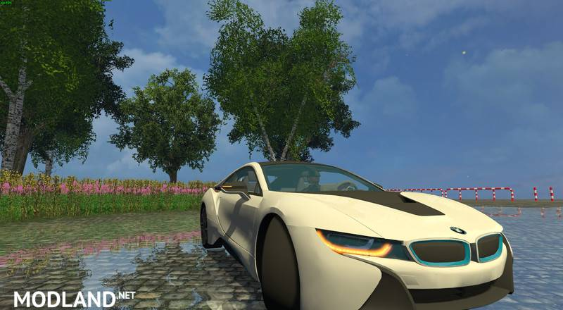 Bmw I8 Edrive V 1 5 Mod For Farming Simulator 2015 15 Fs Ls