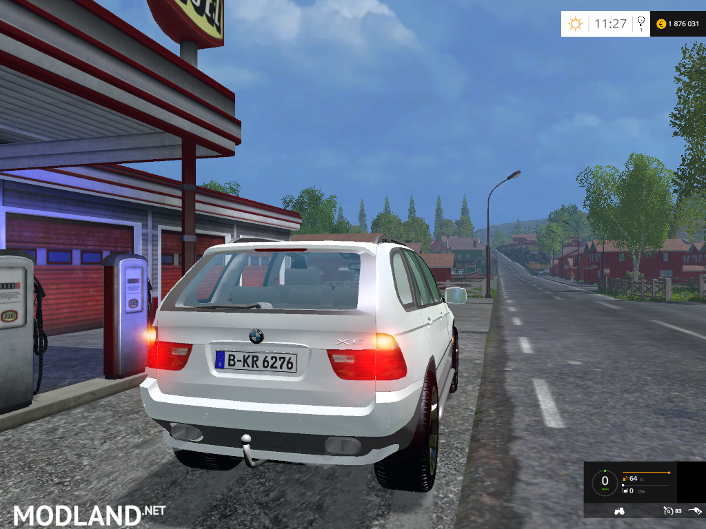 John Deere 318 >> BMW X5 15 Special vehicle v2.0 gefixt mod for Farming Simulator 2015 / 15 | FS, LS 2015 mod