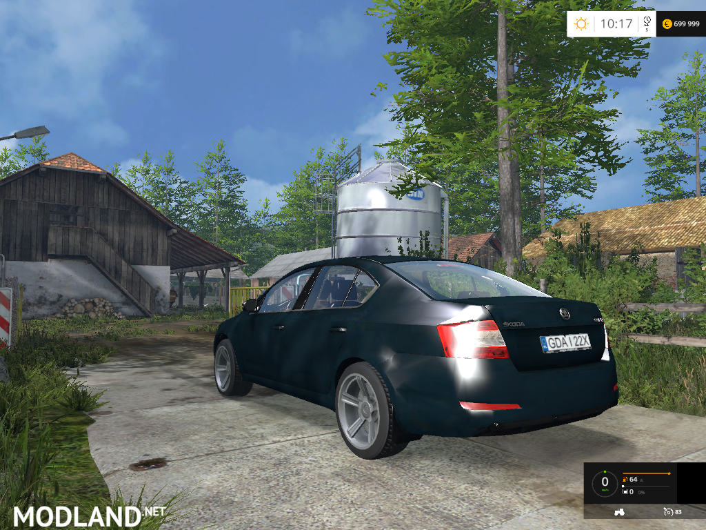 Skoda Octavia v 2.0 mod for Farming Simulator 2015 / 15 ...
