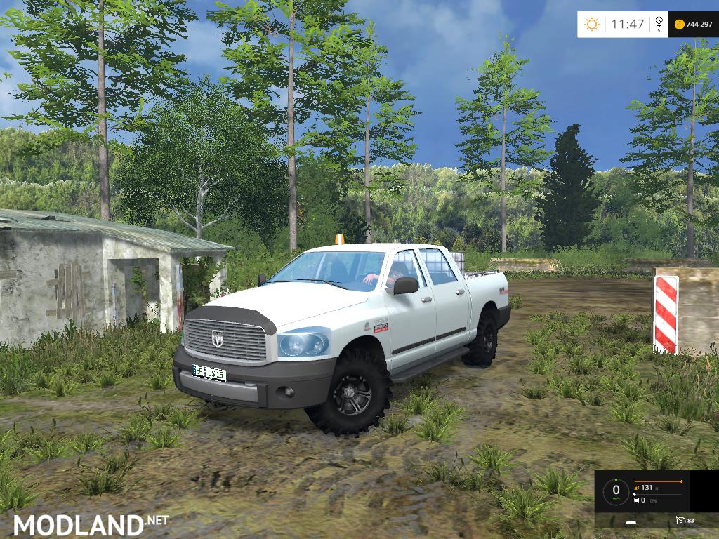 dodge ram 2500 service car mod for farming simulator 2015    15