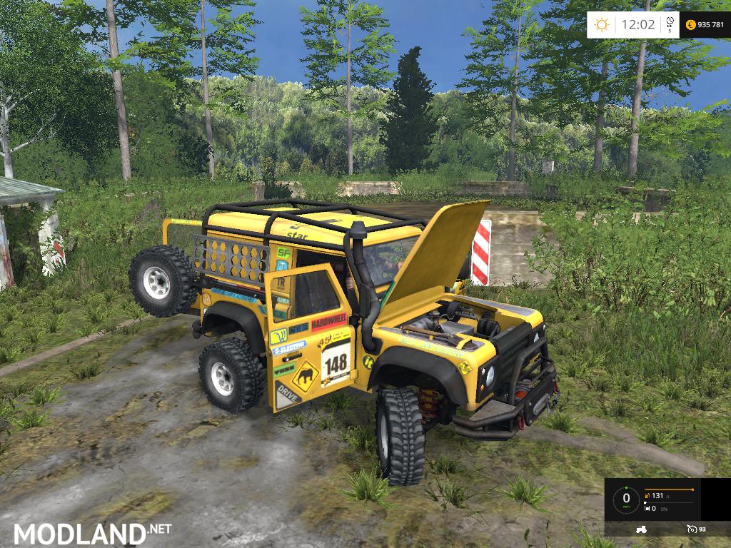 Land Rover Defender Dakar V 2 0 Mod For Farming Simulator